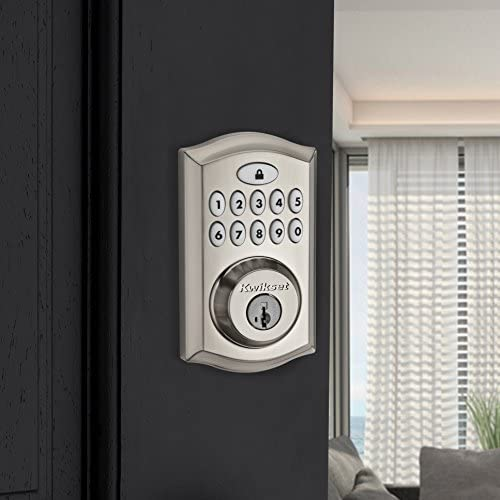 tools, home improvement, hardware, door hardware, locks,  deadbolts 12 picture Kwikset 99130-002 SmartCode 913 Non-Connected Keyless deals