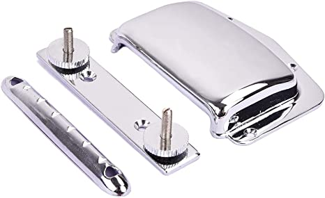 Artibetter Guitar Bridge Tailpiece Cover Set Ajustable Fijo para ...