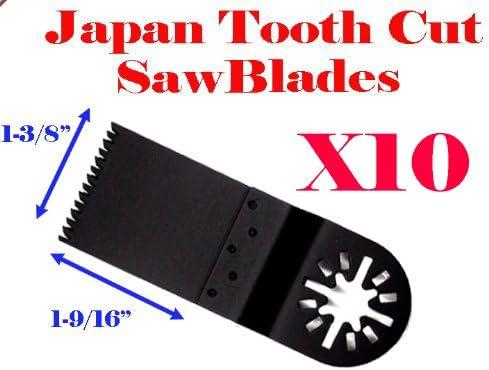 10PCS 35mm Bi-metal Blades For Dewalt Stanley Black/&Decker Oscillating Multitool