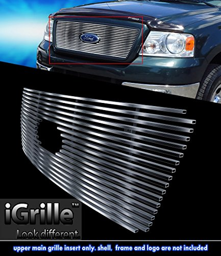 Stainless Steel eGrille Billet Grille Grill For 2004-2008 Ford F-150 Honeycomb Style