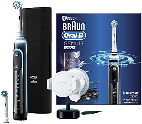 ブラウン オーラルB 電動歯ブラシ ジーニアス10000A ブラック(海外電圧対応モデル) D7015266XCMBK