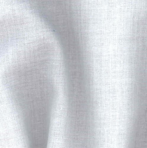 Robert Kaufman Kaufman Savannah Cotton Lawn White Fabric by The Yard, (White Cotton Lawn Fabric By The Yard)