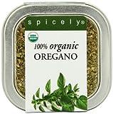 Spicely Organic Oregano, Mediterranean - Tin