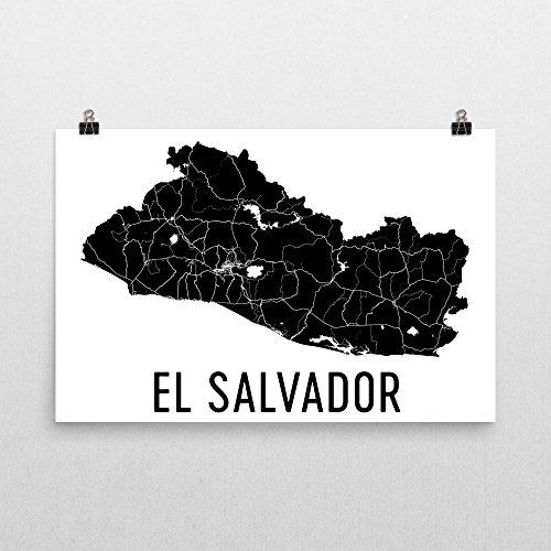 - Modern Map Art El Salvador Map, El Salvador Art, El Salvador Gifts, El Salvador Wall Art, Map of El Salvador, El Salvador Decor, El Salvador Poster 24