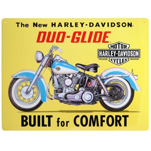 Harley-Davidson® Duo-Glide Built For Comfort Metal (Harley Duo)