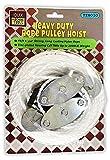 QUIX Heavy Duty Manually Operated Rope Pulley Hoist