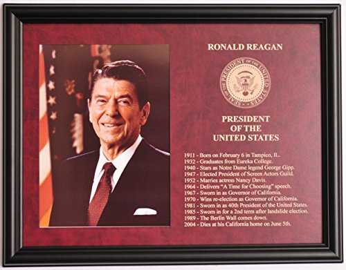 Ronald Reagan President of the United States framed & eng...