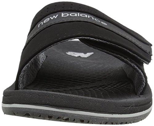 New Balance Mens PureAlign Slide Sandal Black mwPYa