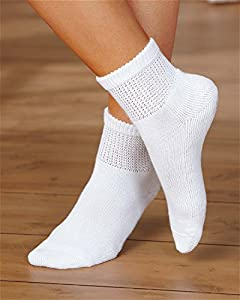 Dr. Scholl's Women's 2 Pack Diabetes Circulatory Ankle Socks