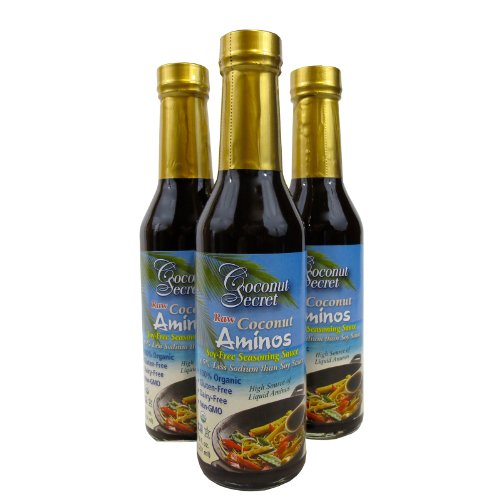Coconut Secret -Coconut Aminos (Three 8oz Bottles)