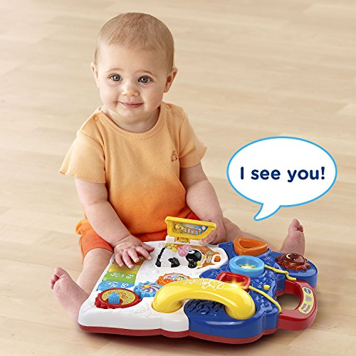 5139xoukr6L - VTech Sit-to-Stand Learning Walker - Blue