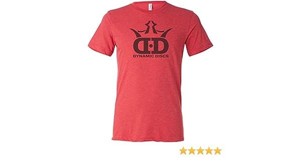 810b36311 Amazon.com : Dynamic Discs DD Logo Short Sleeve Disc Golf T-Shirt : Sports  & Outdoors