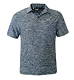 Under Armour Men's UA Elevated Heather Polo Shirt UPF30 Academy/Graphite (L)