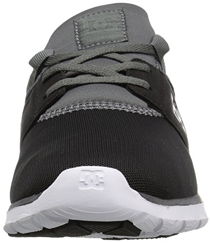 Dc Heathrow Skate Shoe Black grey green 14 M Us Black dark Grey