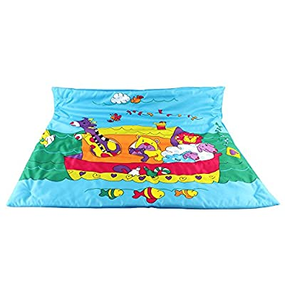 Colorful Tummy Time Play Mat That Grows With Your Child, Made With A Thick Material That Makes It Easy To Clean