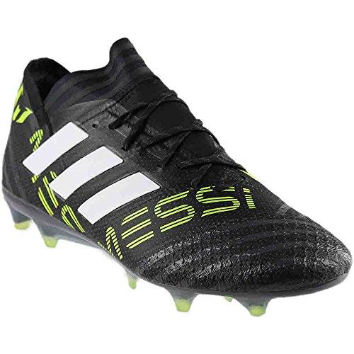 adidas Messi NEMEZIZ 17.1 FG Soccer Cleats (Sz. 7.5) Black, White, Solar Yellow