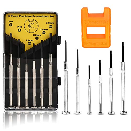6PCS Mini Screwdriver Set, Precision Maintenance Tools, Suitable for Watches, Glasses, Jewelry from XDGOOD