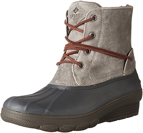 Sperry Top-Sider Damen Salzwasser Wedge Tide Regenstiefel Grau