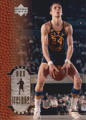2000 Upper Deck Century Legends Basketball Card #24 Rick Barry Mint
