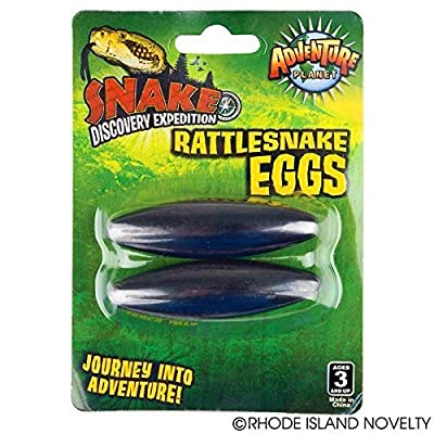 "12 pairs - Large 2.5"" Rattle Snake Eggs Rattlesnake Singing Magnets: Toys & Games"