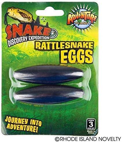 Amazon Com 12 Pairs Large 2 5 Rattle Snake Eggs Rattlesnake