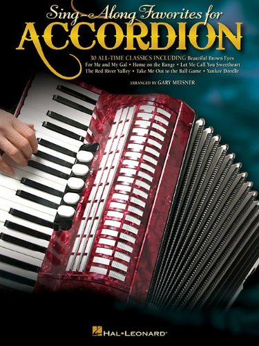 (Sing-Along Favorites for Accordion)