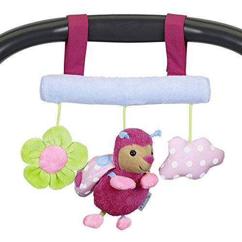 Sterntaler 6601625 - Spielzeug zum Aufhängen Katharina, pink/rosa/grün/blau