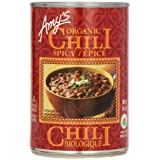 Amy'S Kitchen Organic Spicy Chili, 398 ml