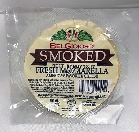 Mozzarella Ball (Belgioioso Cheese Mozzarella Ball Smoked, 8 oz)