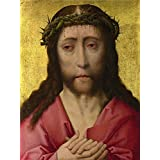 'Workshop of Dirk Bouts Christ Crowned with Thorns ' oil painting, 10 x 13 inch / 25 x 34 cm ,printed on polyster Canvas ,this Imitations Art DecorativeCanvas Prints is perfectly suitalbe for Kitchen gallery art and Home artwork and Gifts