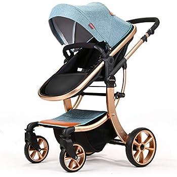 Amazon.com : Bassinet Baby Stroller Reversible All Terrain ...