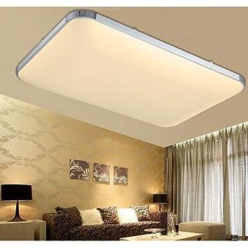 Hengda 48w led deckenleuchte modern deckenlampe warmweiß flur wohnzimmer lampe schlafzimmer 85v 265v