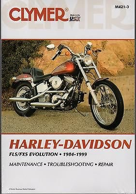 Fls Fxs Evolution 1984 1999 Service And Repair Manuals border=