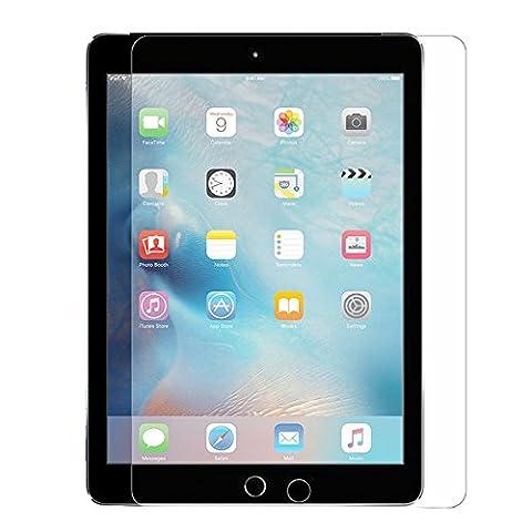 [2 Pack] iPad Mini Screen Protector, Supone Tempered Glass Screen Protector for iPad Mini / iPad Mini 2 / iPad Mini 3 with Retina (Screen Protector For Mini Ipad 1)