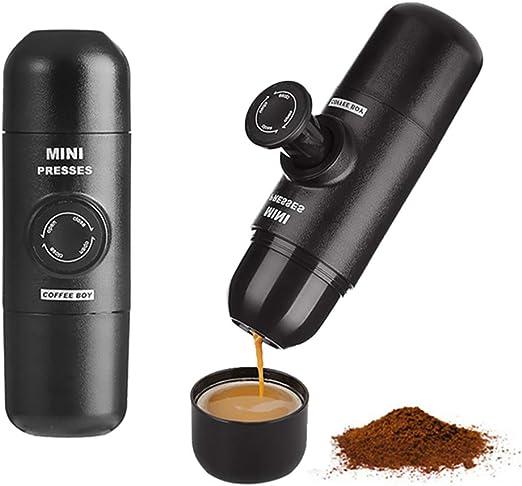 fang zhou Cafetera Espresso portátil de un Solo Servicio - Cápsula ...