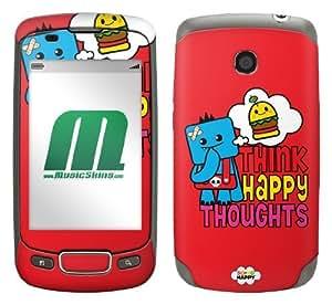 MusicSkins, MS-SOSO30248, So So Happy - Ozzie Happy Thoughts, LG Optimus T (P509), Skin