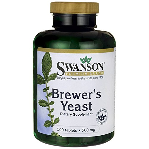 Swanson Brewer's Yeast 500 mg 500 Tabs