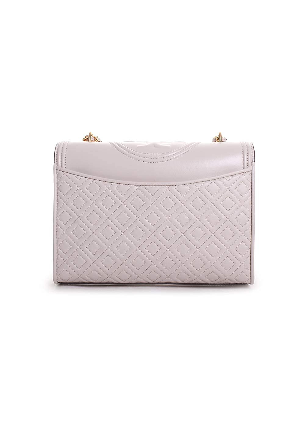 d81778f561a Amazon.com  Tory Burch Fleming Convertible Leather Shoulder Bag (Birch)   Clothing