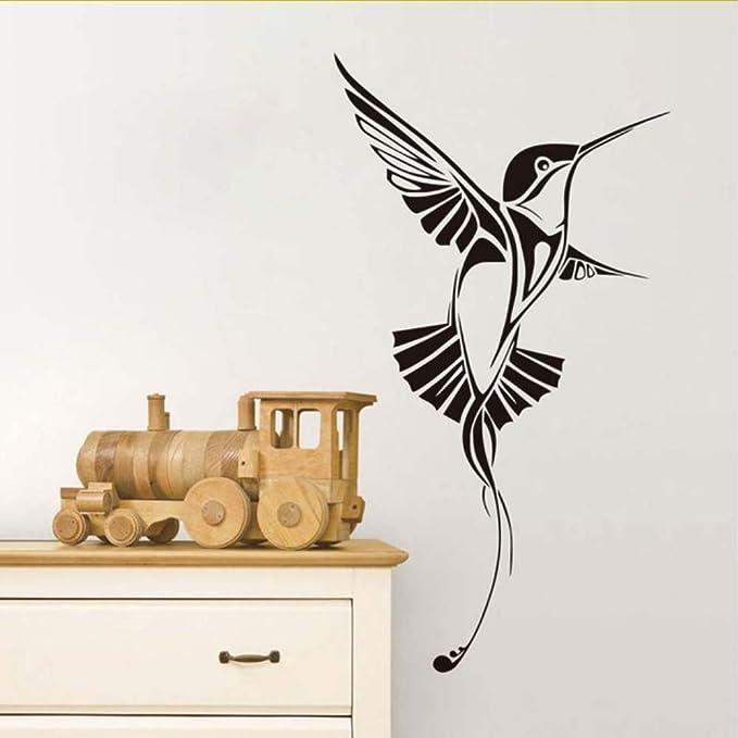 Mbambm Colibrí Diy Tatuajes De Pared Colibri Bird Vinilo Arte ...