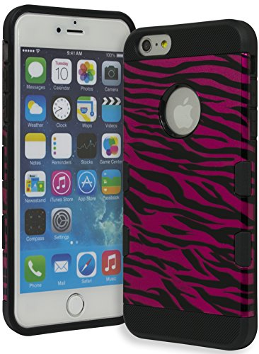 Slim Sleek Shockproof Case for iPhone 6 Plus/6s Plus (Hot Pink) - 9