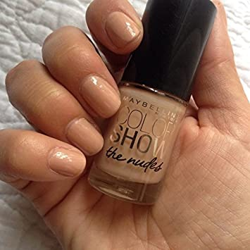 Amazon.com : Maybelline Color Show Limited Edition the Nudes Nail ...