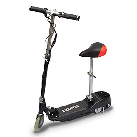 Festnight Patinete Scooter Eléctrico con Asiento 120W Color ...