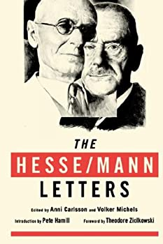 The Hesse-Mann Letters 0060106425 Book Cover