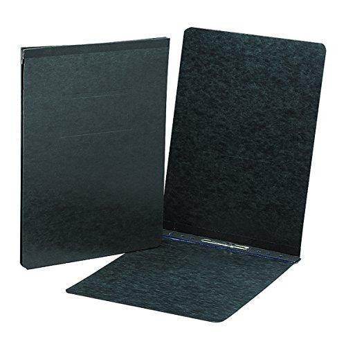 "Smead PressGuard Report Cover, Metal Prong Top Fastener with Compressor, 3"" Capacity, Sheet Size 11"" x 17"", Black, 10 per Box (81178)"
