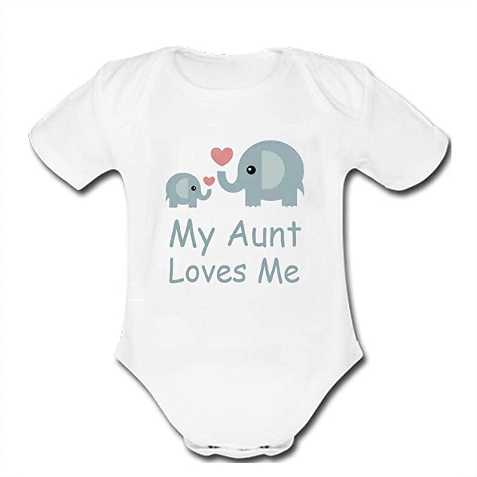 Amazon Com Bernie Gresham Child Bodysuits My Aunt Loves Me Baby