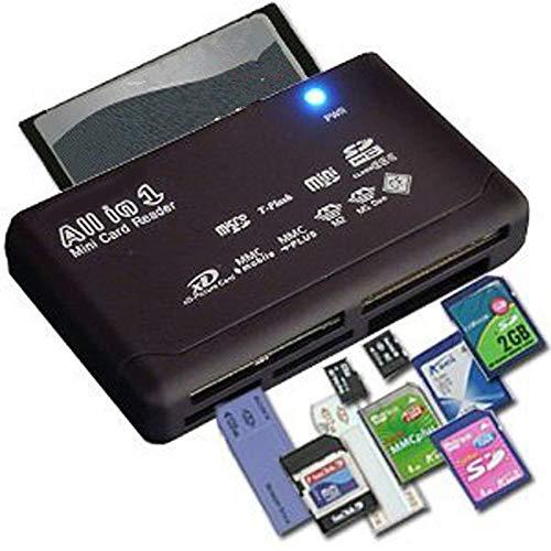 Morza Todo en un Lector de Tarjetas USB 2.0 Tarjeta SD Lector Adaptador SD TF de la Ayuda CF Mini SD SDHC MMC MS XD
