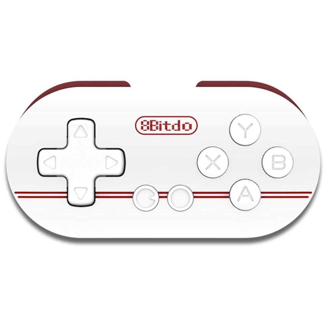 8Bitdo Zero Mini Controller Portatile Bluetooth Bianco Wireless Gamepad ToGames-IT