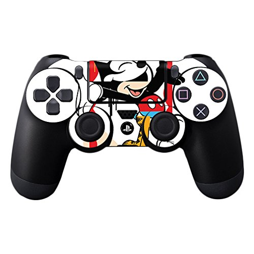 MightySkins Skin Compatible with Sony PS4 Controller - Character Swap | Protective, Durable, and Unique Vinyl Decal wrap Cover | Easy to Apply, Remove, and Change Styles | Made in The USA