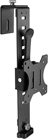 Mount It Cubicle Monitor Mount Hanger Attachment Hanging Height Adjustable Vesa Bracket For A 17 To 32 Screen Adjustable Hook Supports Up To 17 6 Lbs Black Mi 785 Electronics