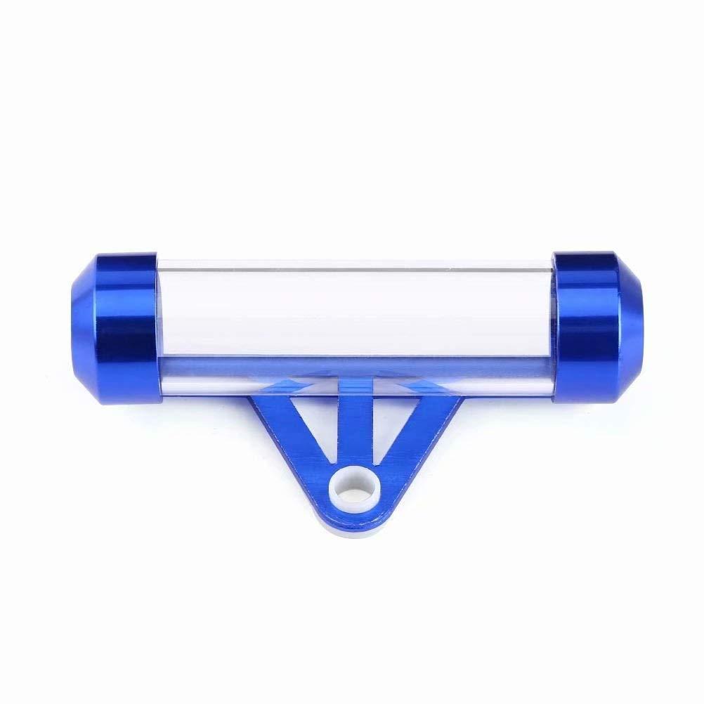 Support//Tube de vignette en acrylique et aluminium pour moto imperm/éable